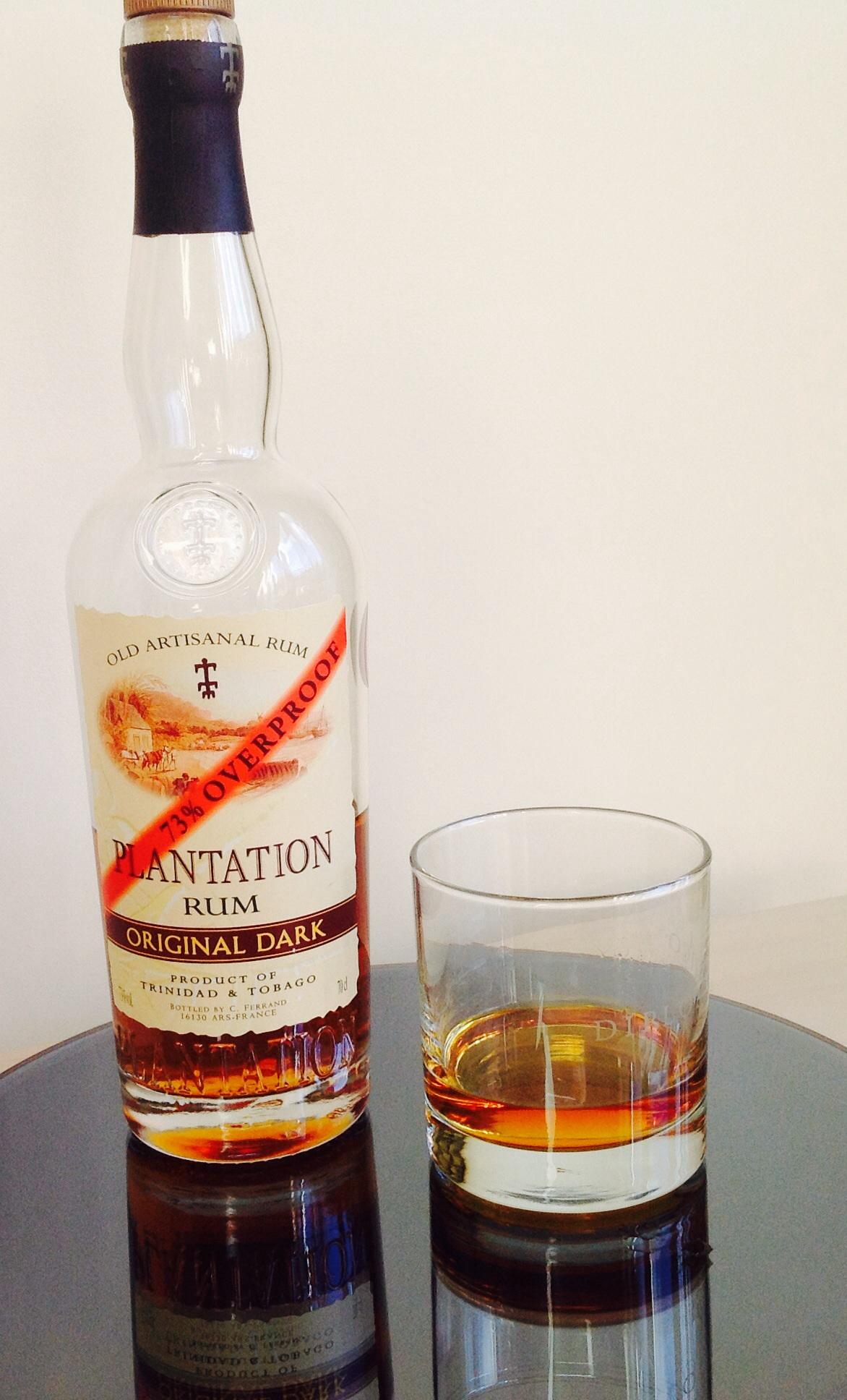 Plantation Original Dark Rum - Overproof | thefatrumpirate
