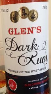 Glens Dark Rum Review