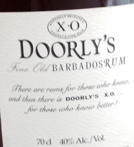 Doorly's XO Rum Review Barbados Seale Bajan
